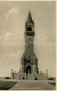 AK / Ansichtskarte Grunewald_Berlin Saewert s Grunewald Turm Kaiser Wilhelm Turm auf dem Karlsberg Grunewald Berlin
