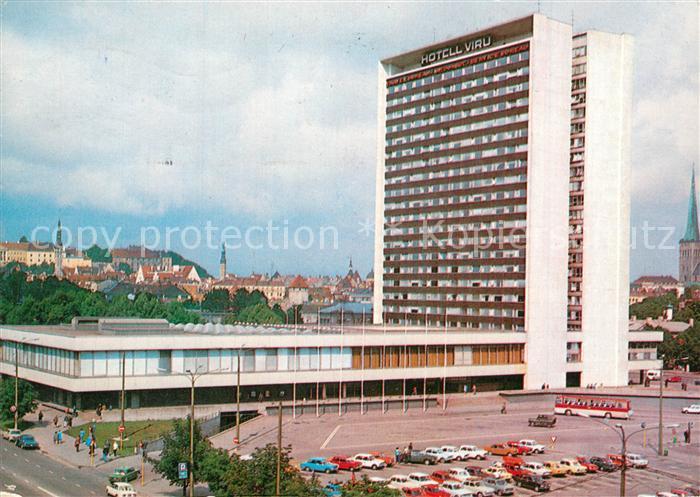 AK / Ansichtskarte Tallinn Viru Hotel Tallinn