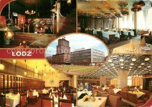 AK / Ansichtskarte Lodz Restaurant Pizzeria Natasza Lodz