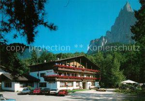 AK / Ansichtskarte Seis_Schlern Ritterhof Ritterkeller Seis_Schlern