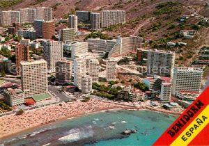 AK / Ansichtskarte Benidorm Fliegeraufnahme  Benidorm