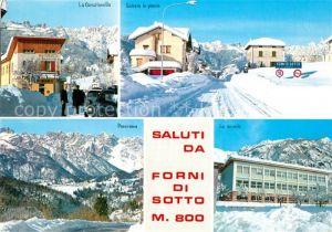 AK / Ansichtskarte Forni_di_Sotto Genzianelle Scuole Forni_di_Sotto