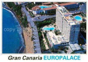 AK / Ansichtskarte Gran_Canaria Hotel Gran Canaria Europalace Fliegeraufnahme Gran Canaria