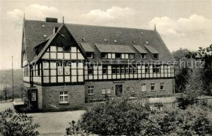 AK / Ansichtskarte Bielefeld Jugendherberge Bielefeld