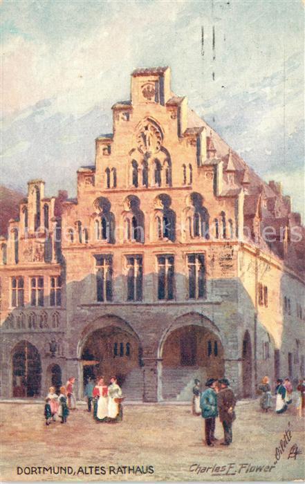 AK / Ansichtskarte Dortmund Altes Rathaus Dortmund