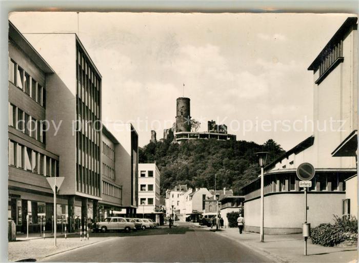 AK / Ansichtskarte Bad_Godesberg Blick zur Godesburg Bad_Godesberg