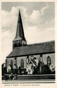 AK / Ansichtskarte Grefrath_Niederrhein Sankt Laurentius Pfarrkirche Grefrath Niederrhein