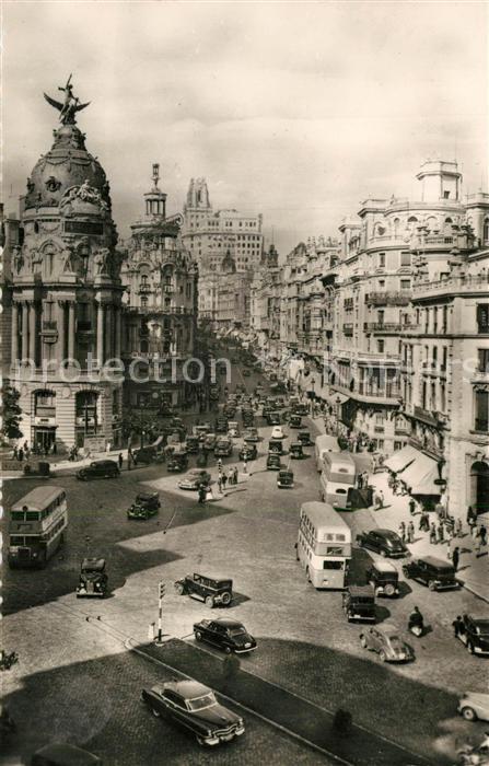 AK / Ansichtskarte Madrid_Spain Avenida Jose Antonio Madrid Spain