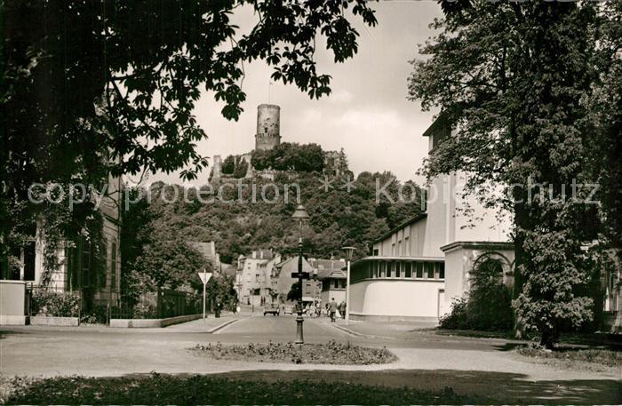 AK / Ansichtskarte Bad_Godesberg Blick zur Godesburg Bad_Godesberg 0