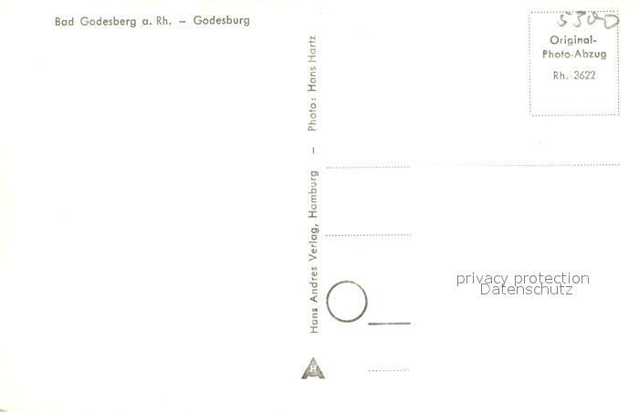 AK / Ansichtskarte Bad_Godesberg Blick zur Godesburg Bad_Godesberg 1