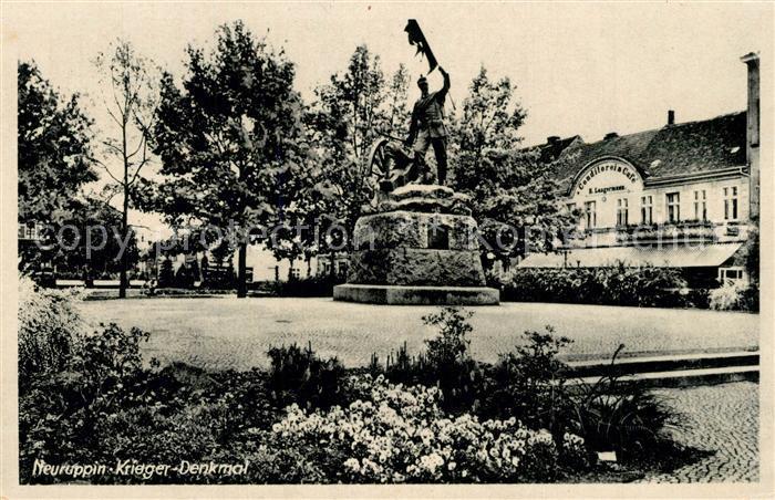 AK / Ansichtskarte Neuruppin Kriegerdenkmal Neuruppin