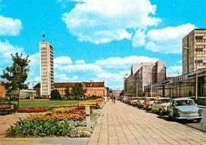 AK / Ansichtskarte Neubrandenburg Karl Marx Platz Hochhaus Neubrandenburg