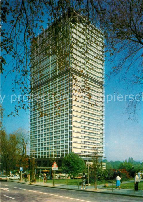 AK / Ansichtskarte Bonn_Rhein Abgeordneten Hochhaus des Bundestages Langer Eugen Bonn_Rhein 0