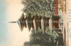 AK / Ansichtskarte Nikko Pagoda Nikko