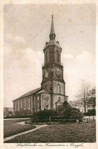 AK / Ansichtskarte Frauenstein_Sachsen Stadtkirche zu unserer lieben Frau Frauenstein_Sachsen