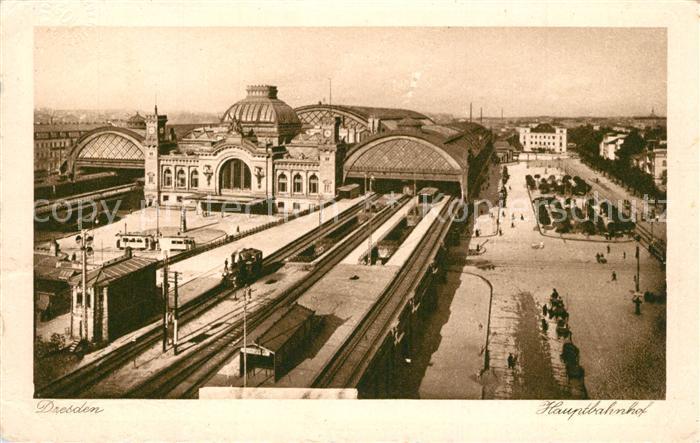Dresden Hauptbahnhof Dresden