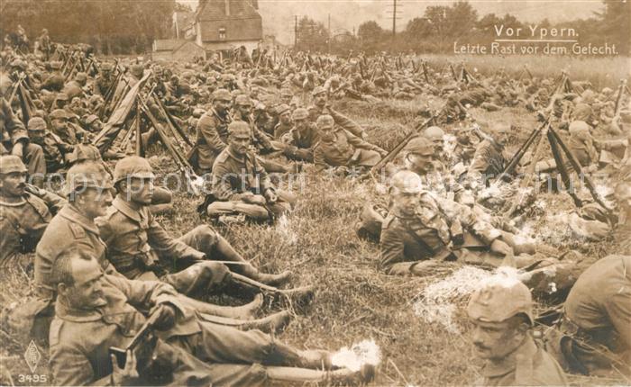 AK / Ansichtskarte Belgien Kriegsbild Soldaten Belgien
