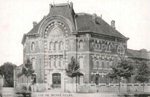 AK / Ansichtskarte Valenciennes College de Jeunes Filles Valenciennes