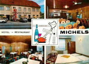 AK / Ansichtskarte Weigelsdorf Hotel Restaurant Michels Fremdenzimmer Weigelsdorf