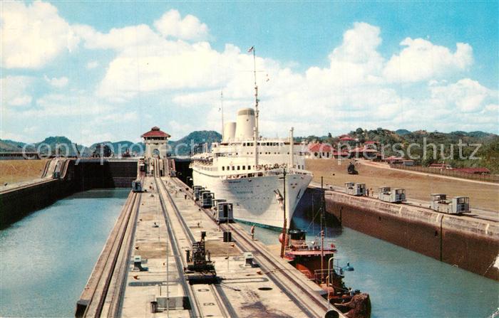 AK / Ansichtskarte Panama Canal Panama