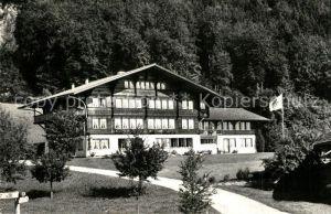 AK / Ansichtskarte Hondrich Kantonale Bergbauernschule Hondrich