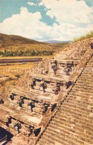 AK / Ansichtskarte Teotihuacan Temple of Quetzakoatl Teotihuacan