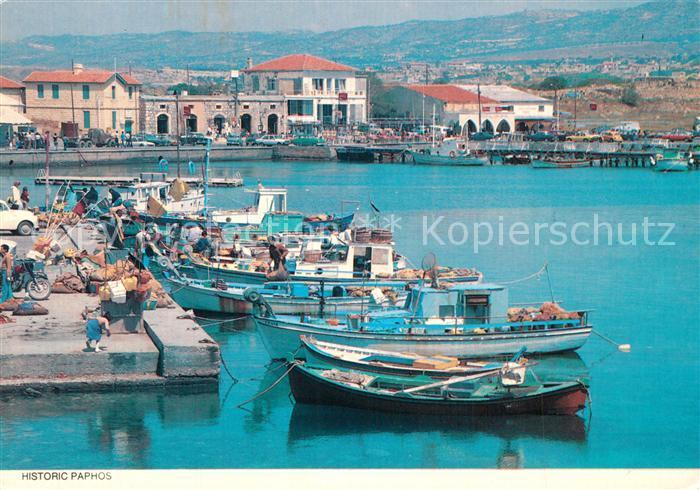 AK / Ansichtskarte Paphos Hafen Paphos