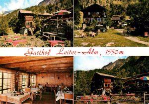 AK / Ansichtskarte Vellau Gasthof Leiteralm Vellau
