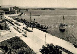 AK / Ansichtskarte Sibenik Hafen Uferpromenade Sibenik