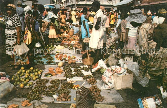 AK / Ansichtskarte Saint_Vincent_Grenadines Saturday Market Grenadines Saint_Vincent_Grenadines