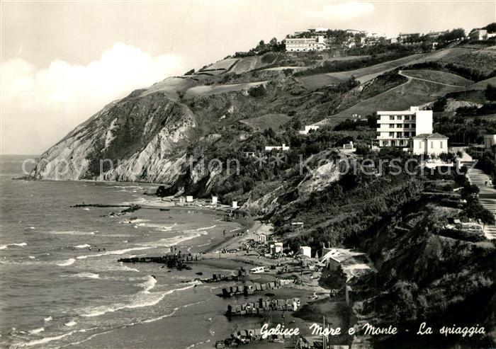 AK / Ansichtskarte Gabicce_Mare Monte Spiagga Gabicce Mare