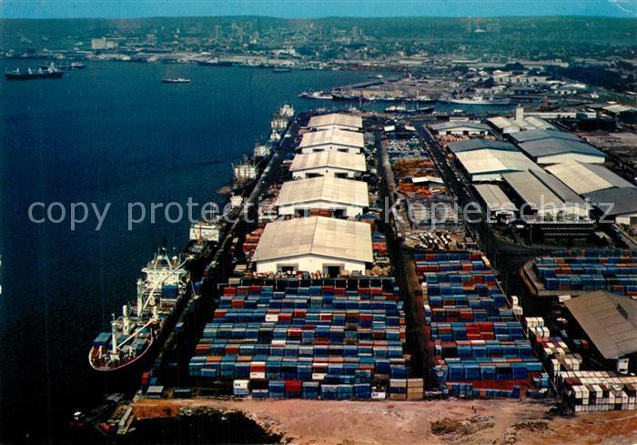 AK / Ansichtskarte Abidjan Fliegeraufnahme Abidjan