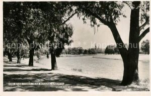AK / Ansichtskarte Melbourne_Victoria River Yarra near Botanic Gardens Melbourne Victoria