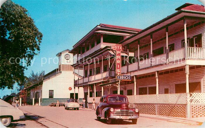 AK / Ansichtskarte Ceiba_La Calle de la Estacion Ferroviaria Ceiba_La