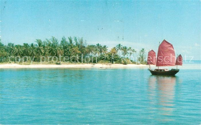 AK / Ansichtskarte West_End_Bahamas Grand Bahama Hotel and Country Club Chinese Junk