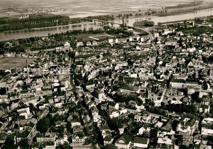 AK / Ansichtskarte Worms_Rhein Fliegeraufnahme Worms Rhein 0