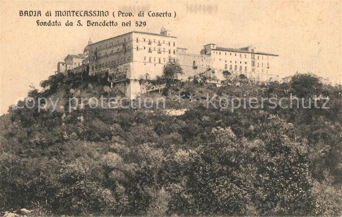 AK / Ansichtskarte Montecassino Badia Fondata da San Benedetto Montecassino 0