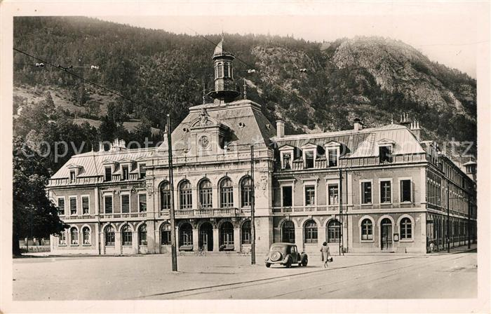 AK / Ansichtskarte Morez Hotel de Ville Roche au Dade Morez 0