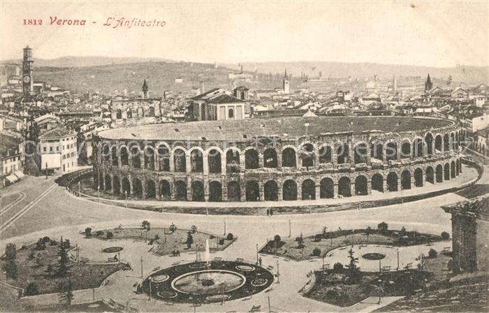 AK / Ansichtskarte Verona_Veneto Anfiteatro Verona Veneto 0