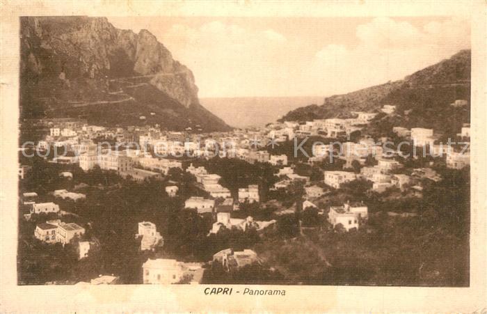 AK / Ansichtskarte Capri Panorama Capri 0