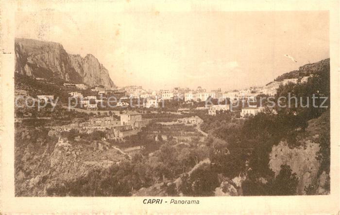 AK / Ansichtskarte Capri Panorama Capri