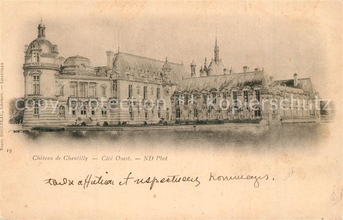 AK / Ansichtskarte Chantilly Chateau Chantilly 0