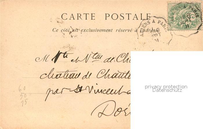 AK / Ansichtskarte Chantilly Chateau Chantilly 1