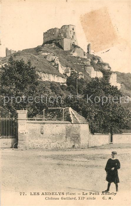 AK / Ansichtskarte Les_Andelys Le Petit Andely Chateau Gaillard XII Les_Andelys 0