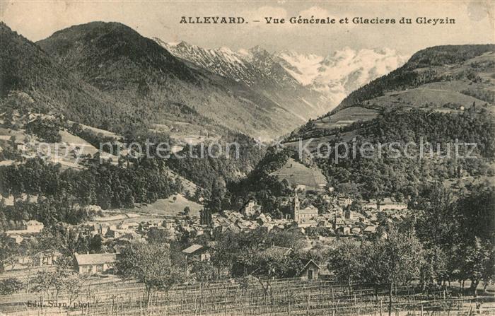 AK / Ansichtskarte Allevard_les_Bains_Isere Panorama Glaciers du Gleyzin Allevard_les_Bains_Isere 0
