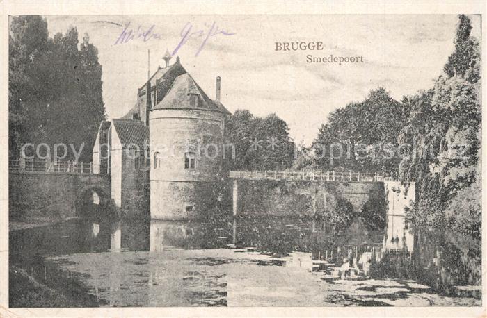 AK / Ansichtskarte Bruegge_West Vlaanderen Smedepoort Bruegge_West Vlaanderen 0
