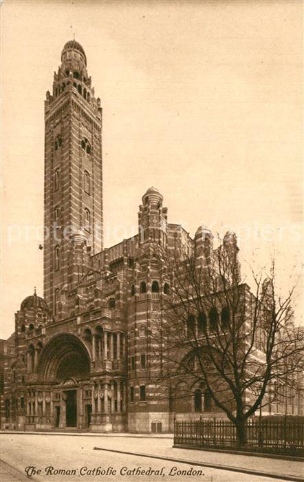 AK / Ansichtskarte London Katholische Kirche London 0
