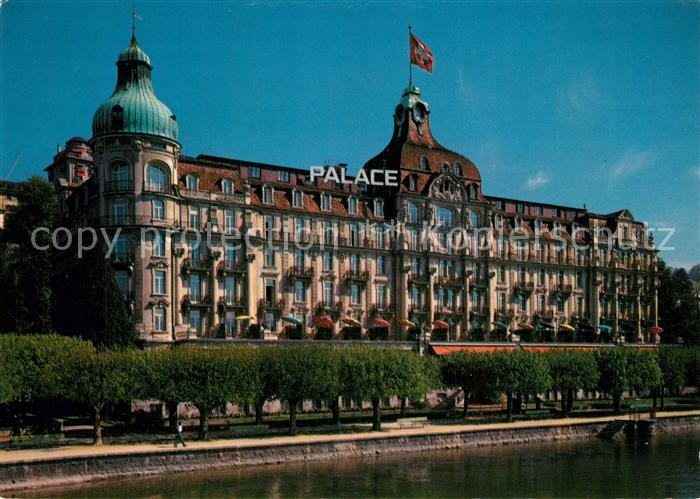 AK / Ansichtskarte Lucerne_Luzern Palace Hotel Lucerne Luzern 0