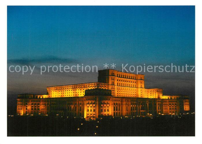 AK / Ansichtskarte Bukarest Palace of the Parliament at night Bukarest 0