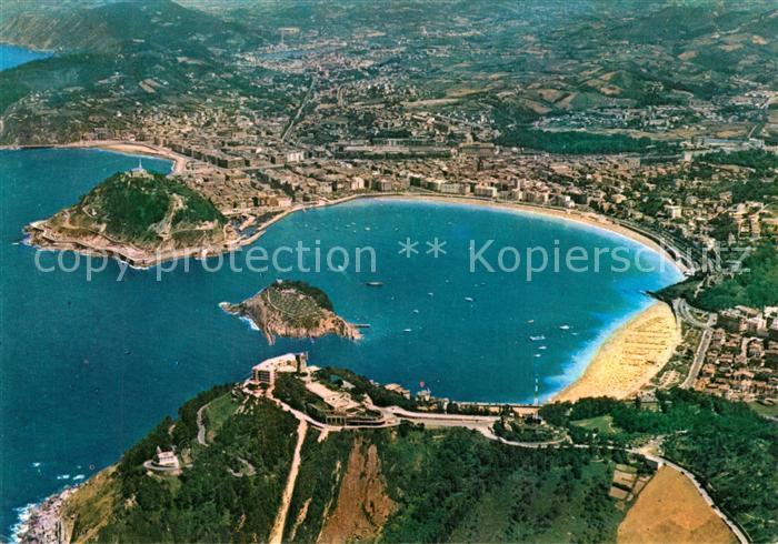 AK / Ansichtskarte San_Sebastian_Guipuzcoa Hotel Monte Igueldo vista aerea San_Sebastian_Guipuzcoa